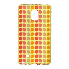 Colorful Leaf Pattern Samsung Galaxy Note Edge Hardshell Case