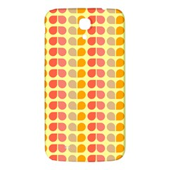 Colorful Leaf Pattern Samsung Galaxy Mega I9200 Hardshell Back Case