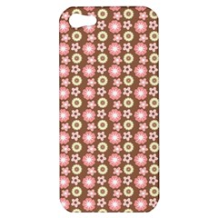 Cute Floral Pattern Apple Iphone 5 Hardshell Case