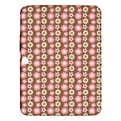 Cute Floral Pattern Samsung Galaxy Tab 3 (10 1 ) P5200 Hardshell Case