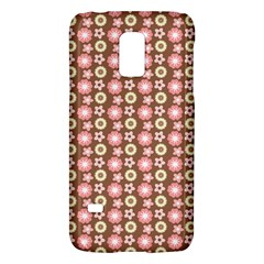 Cute Floral Pattern Samsung Galaxy S5 Mini Hardshell Case