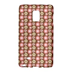 Cute Floral Pattern Samsung Galaxy Note Edge Hardshell Case