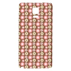 Cute Floral Pattern Samsung Note 4 Hardshell Back Case