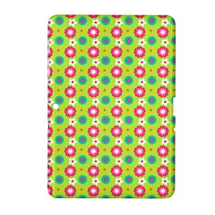 Cute Floral Pattern Samsung Galaxy Tab 2 (10.1 ) P5100 Hardshell Case