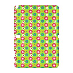 Cute Floral Pattern Samsung Galaxy Note 10.1 (P600) Hardshell Case