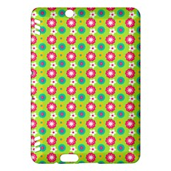 Cute Floral Pattern Kindle Fire HDX Hardshell Case