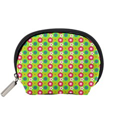 Cute Floral Pattern Accessory Pouch (small)