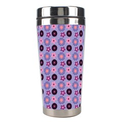 Cute Floral Pattern Stainless Steel Travel Tumbler