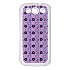 Cute Floral Pattern Samsung Galaxy S3 Back Case (white)