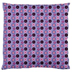 Cute Floral Pattern Standard Flano Cushion Case (One Side)