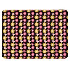 Cute Floral Pattern Samsung Galaxy Tab 7  P1000 Flip Case