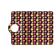 Cute Floral Pattern Kindle Fire HD (2013) Flip 360 Case