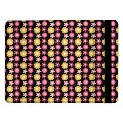 Cute Floral Pattern Samsung Galaxy Tab Pro 12 2  Flip Case