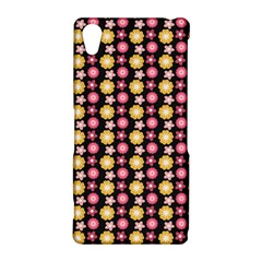 Cute Floral Pattern Sony Xperia Z2 Hardshell Case
