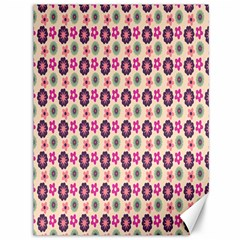Cute Floral Pattern Canvas 36  X 48  (unframed)