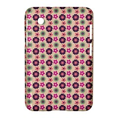 Cute Floral Pattern Samsung Galaxy Tab 2 (7 ) P3100 Hardshell Case