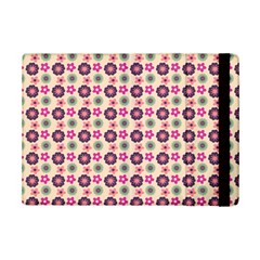 Cute Floral Pattern Apple iPad Mini 2 Flip Case