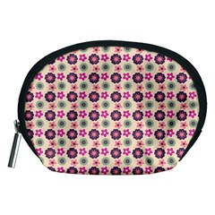 Cute Floral Pattern Accessory Pouch (Medium)