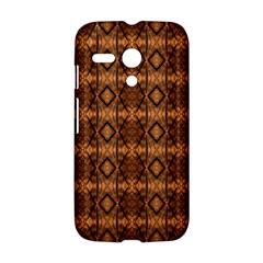 Faux Animal Print Pattern Motorola Moto G Hardshell Case