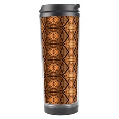 Faux Animal Print Pattern Travel Tumbler