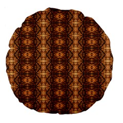 Faux Animal Print Pattern 18  Premium Flano Round Cushion