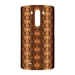 Faux Animal Print Pattern LG G3 Back Case