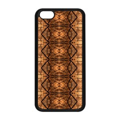 Faux Animal Print Pattern Apple Iphone 5c Seamless Case (black)