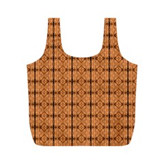 Faux Animal Print Pattern Reusable Bag (M)