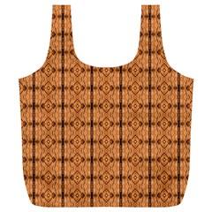 Faux Animal Print Pattern Reusable Bag (XL)