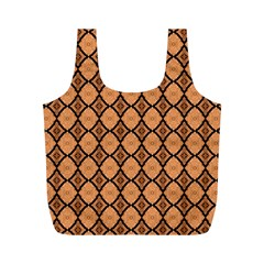 Faux Animal Print Pattern Reusable Bag (M)