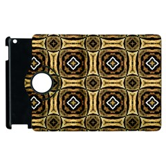 Faux Animal Print Pattern Apple iPad 3/4 Flip 360 Case