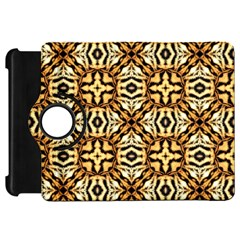 Faux Animal Print Pattern Kindle Fire Hd Flip 360 Case