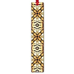 Faux Animal Print Pattern Large Bookmark
