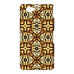 Faux Animal Print Pattern Sony Xperia Z1 Compact Hardshell Case