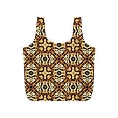 Faux Animal Print Pattern Reusable Bag (S)