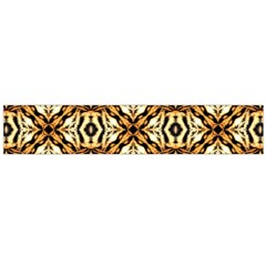 Faux Animal Print Pattern Flano Scarf (large)