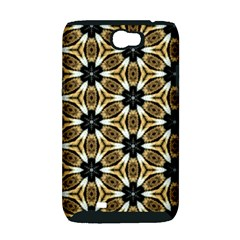 Faux Animal Print Pattern Samsung Galaxy Note 2 Hardshell Case (PC+Silicone)