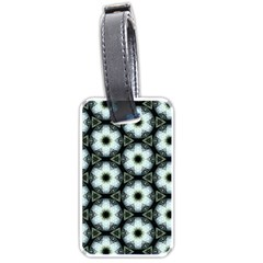Faux Animal Print Pattern Luggage Tag (one Side)