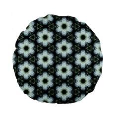 Faux Animal Print Pattern 15  Premium Flano Round Cushion
