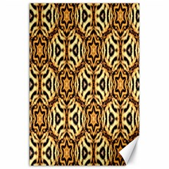 Faux Animal Print Pattern Canvas 20  X 30  (unframed)