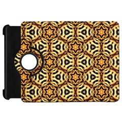 Faux Animal Print Pattern Kindle Fire Hd Flip 360 Case
