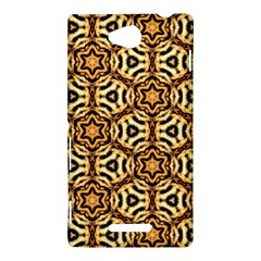 Faux Animal Print Pattern Sony Xperia C (S39H) Hardshell Case