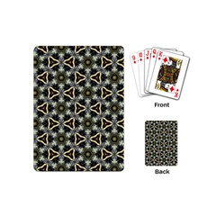 Faux Animal Print Pattern Playing Cards (mini)