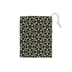 Faux Animal Print Pattern Drawstring Pouch (small)