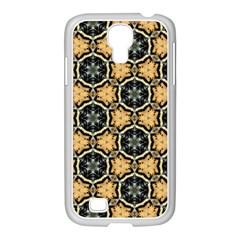 Faux Animal Print Pattern Samsung Galaxy S4 I9500/ I9505 Case (white)
