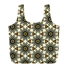 Faux Animal Print Pattern Reusable Bag (L)