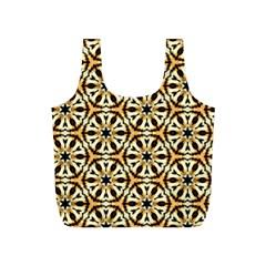 Faux Animal Print Pattern Reusable Bag (S)