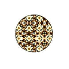 Faux Animal Print Pattern Golf Ball Marker (for Hat Clip)