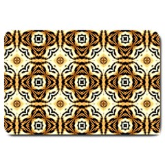 Faux Animal Print Pattern Large Door Mat