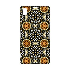 Faux Animal Print Pattern Sony Xperia Z1 L39H Hardshell Case
